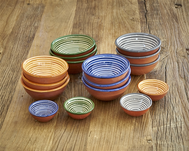 Mini Striped Bowls