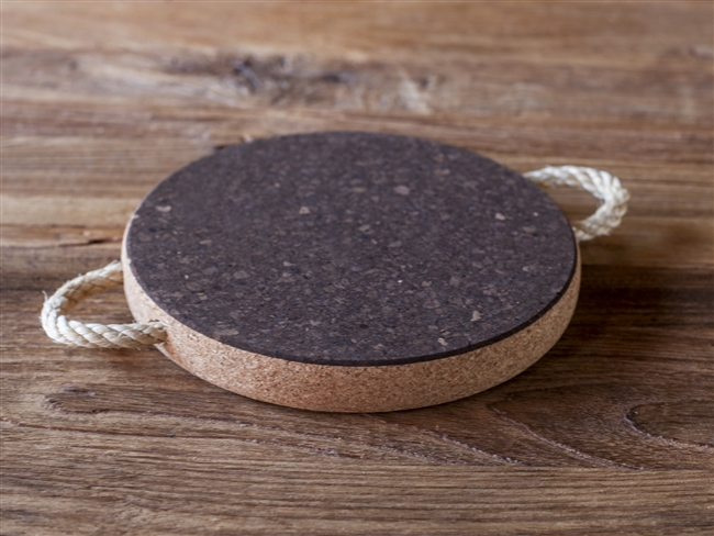 Rope Handle Cork Trivet