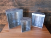 Galvanized Containers - Set/3